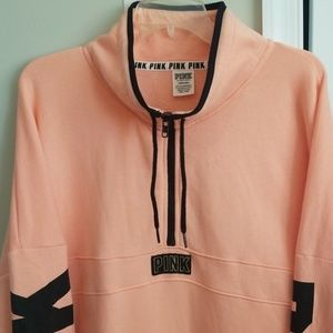PINK Victoria's Secret Quarterzip Sweatshirt